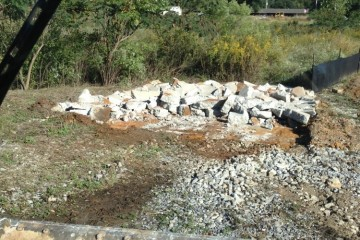 Concrete pad removal in Tuscaloosa, Al