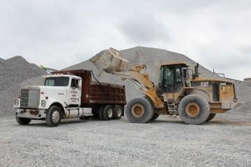 Gravel Delivery at Lay Lake, Alabama